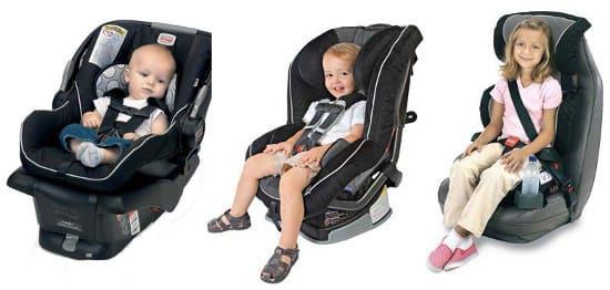 Автомобильные кресла для детей. Как выбрать правильное?