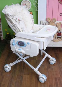 Незаменимый помощник молодой мамы – детская электрическая люлька