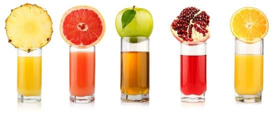 Фруктовые соки – лучшие помощники организму