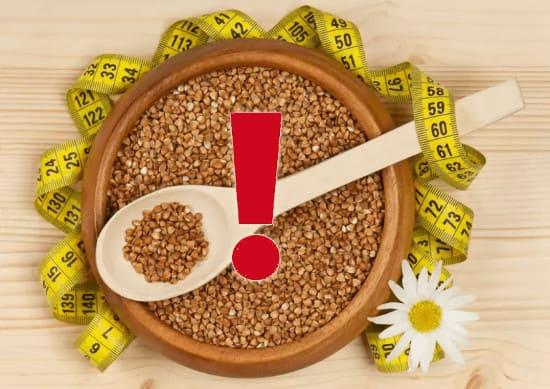 Гречневая диета: противопоказания