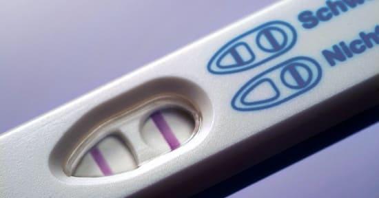 А какой он, положительный тест на беременность?