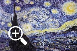 Звёздная ночь Ван Гога